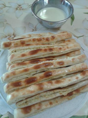 syrové pizza tyčinky - recept