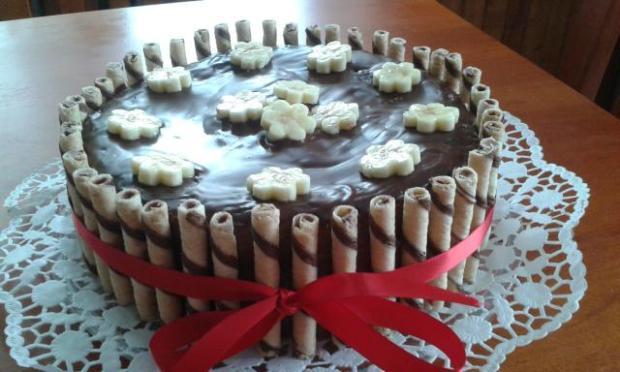 Banánová torta - recept