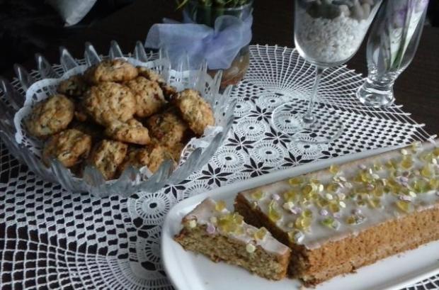 Citrónovo mandlový chlebíček s polentou - recept