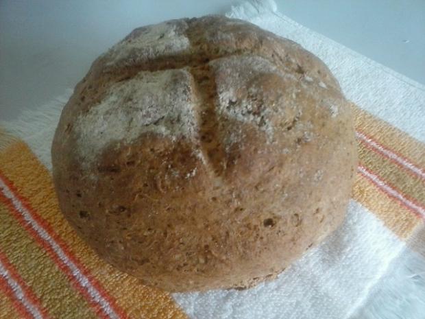 Domáci chlebík bez droždia  - recept