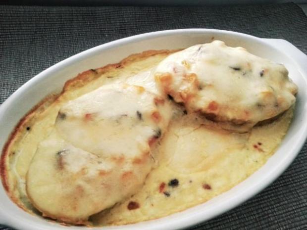 Zapekané zemiaky v šupke - recept