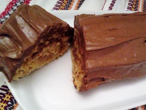 Čokoládový peň - recept