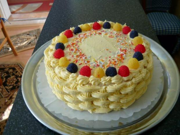Ananásová torta - recept