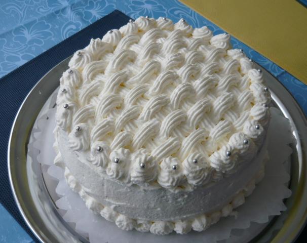 Makovo biela torta - recept