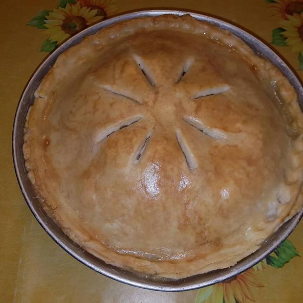 Jablkový koláč americkej babky - recept