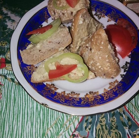 Drožďová natierka s dalamánkami - recept