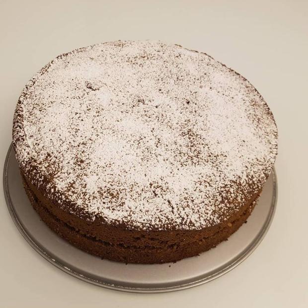 Torta z pohánkovej múky - bezlepková - recept