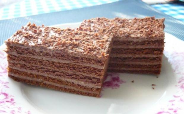 Marlenka čokoládová - recept