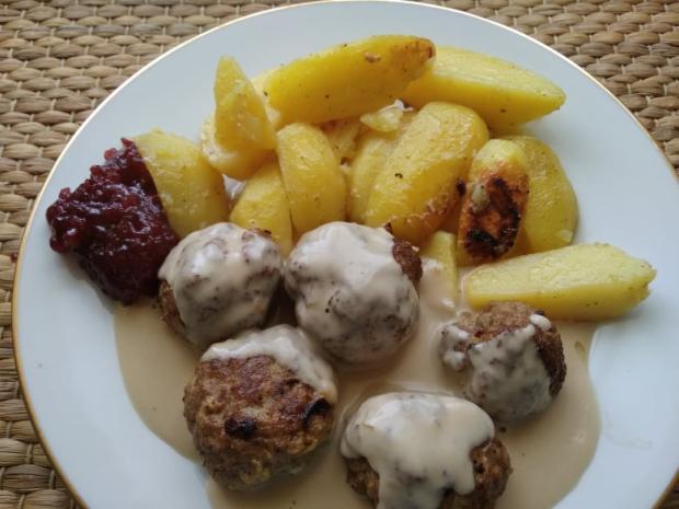 Mäsové guličky s omáčkou - recept