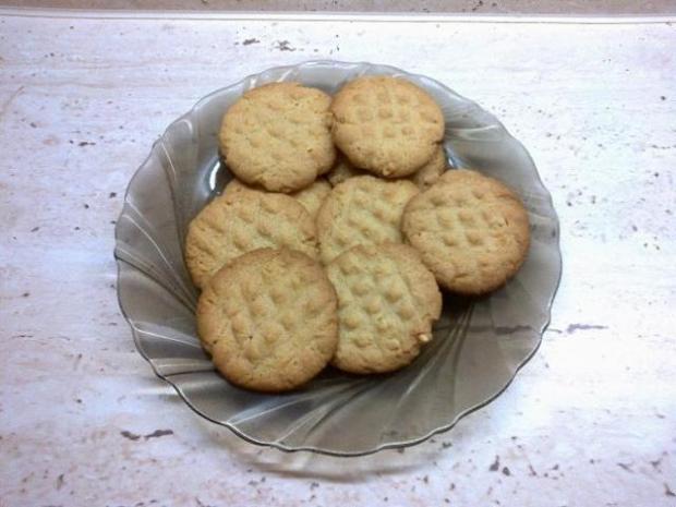 Arašidové koláčiky (sušienky) - recept