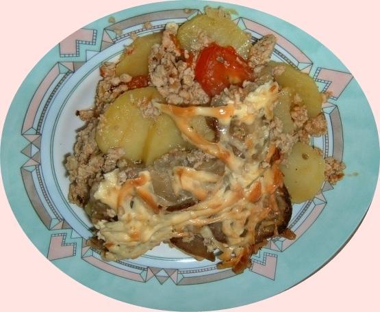 Kuracie prsia s baklažánom - recept