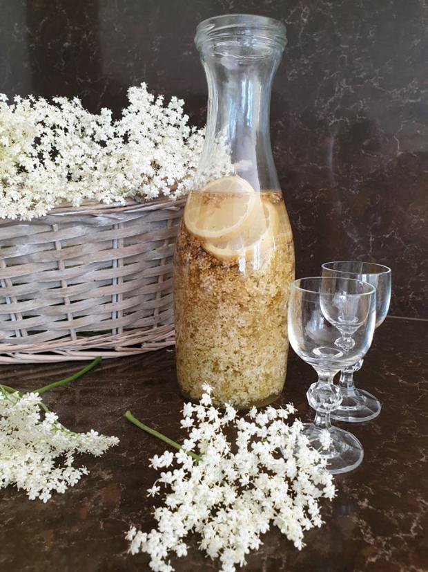Bazový likér, recept