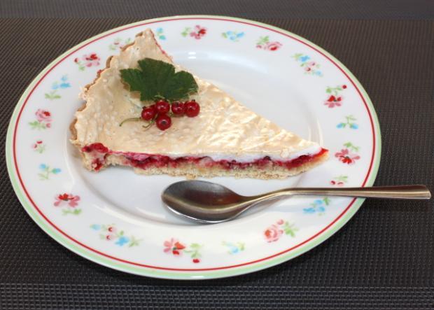 Fantastický ríbezľový koláč s bezé - recept