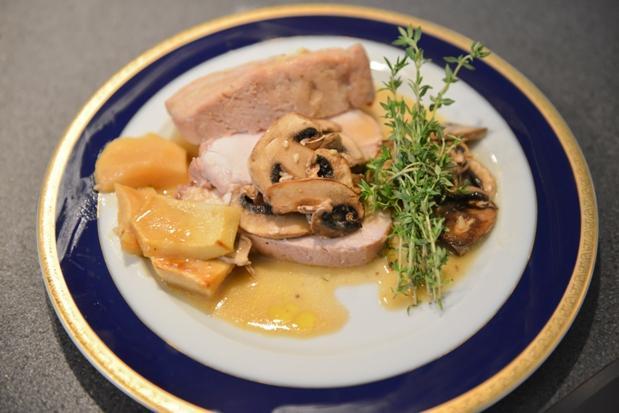 Kanada: Bravčová sviečková s javorovým sirupom a horčicou - recept