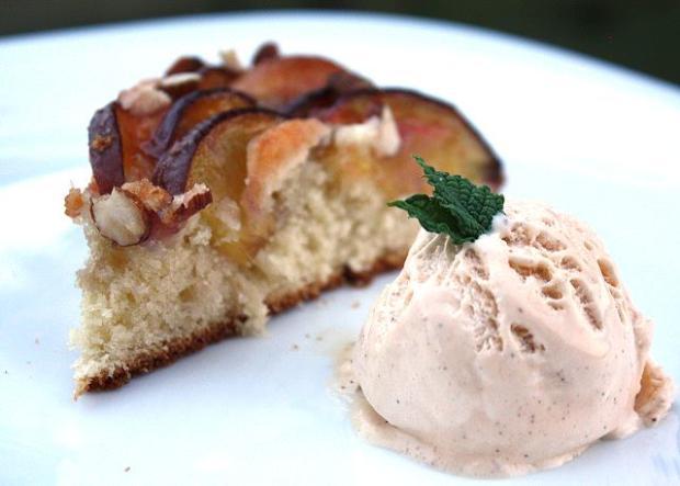 Broskyňový koláč - recept