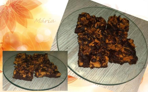 Jednoduchý banánový brownies. - recept