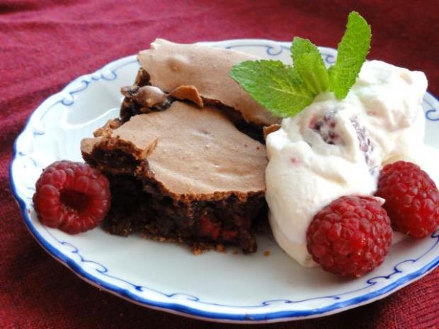 Nadýchané malinové brownies - recept