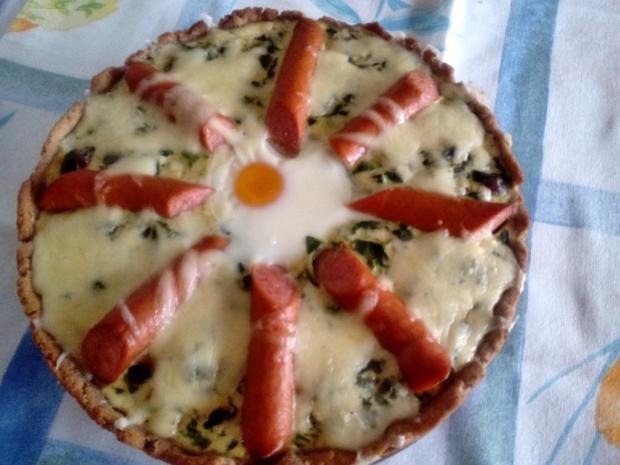 Špenátový koláč - recept