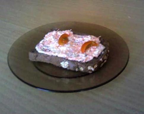 Reďkovková nátierka s mrkvou - recept