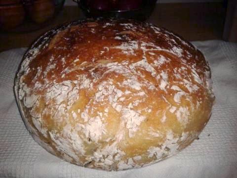 Jednoduchý domáci chlebík - recept