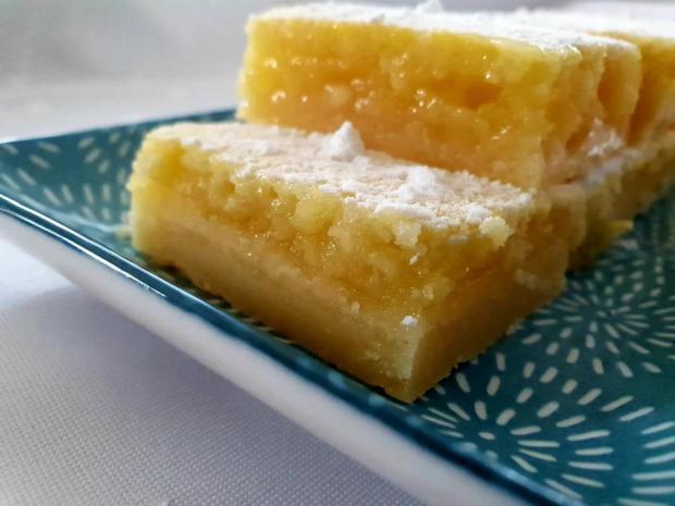 Svieže citrónové rezy - recept