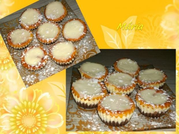 Citrónové minicheesecakes ♣ - recept