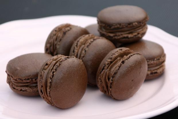 Recept na Čokoládové makronky, Autor: Kamila