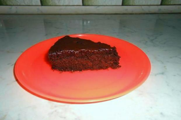 Cviklovo - čokoládová torta - recept