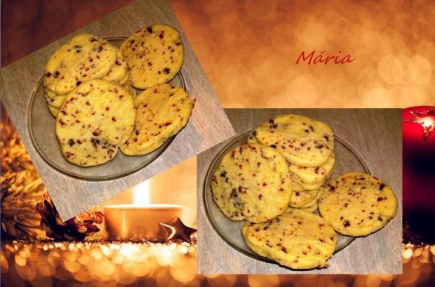 Brusnicové sušienky s cukrovou krustou. - recept
