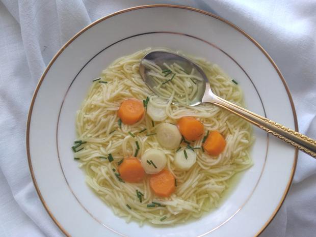 Cuketová polievka - vývar | Recept