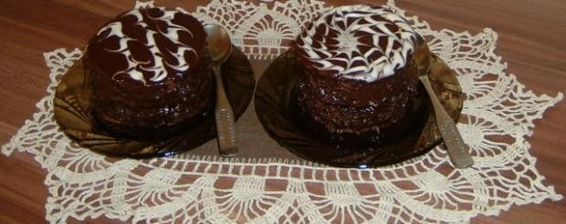 Cuketové minisacherky - recept