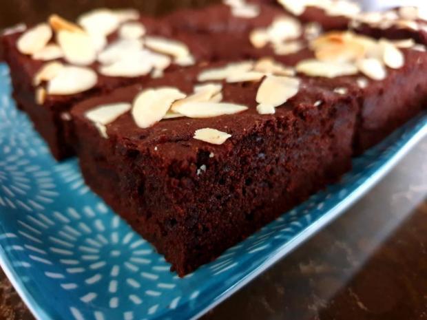Pohánkové brownies s cviklou - recept