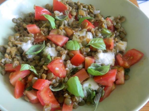 Šošovicový šalát - šošovicoto   Recept