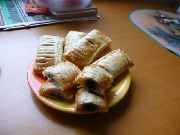 Dvojfarebné pudingové koláčiky - recept