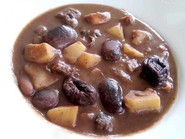 Pôstna fazuľová polievka - recept