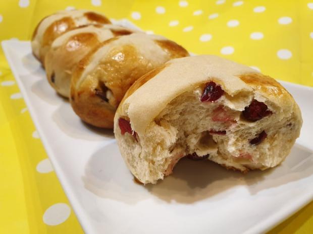 Hot cross buns - recept