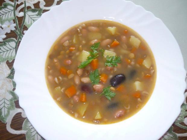 Hŕstková polievka - recept