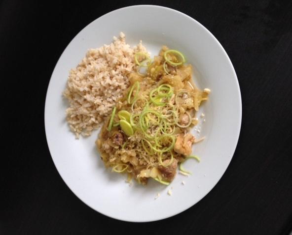 Kuracie so zeleninou - recept