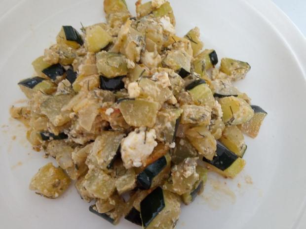 Cuketa s bryndzou - recept