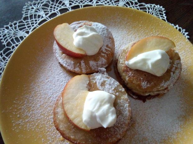 Jablkové lievance - recept