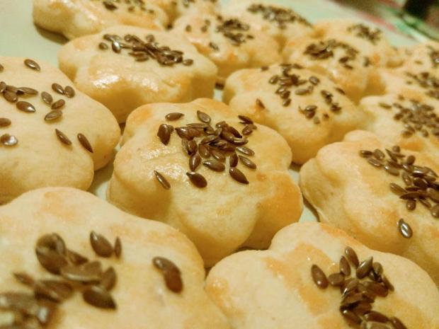 Slané pagáčiky s kyslou smotanou - recept