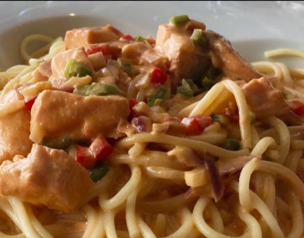 Bravčové mäso so špagetami   Recept