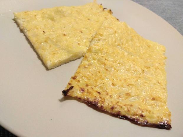 Karfiolová placka bez múky pečená v rúre - recept