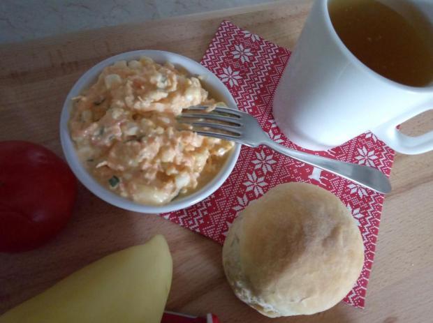 Nátierka z cottage cheese a mrkvy - recept