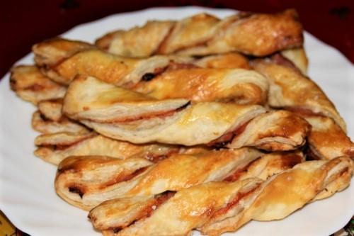 Pizzové štangle recept