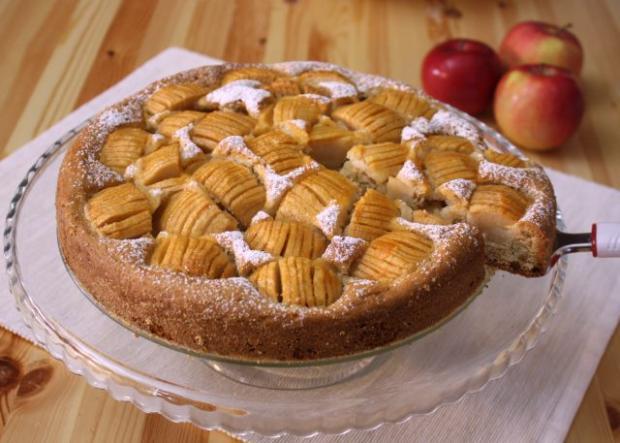 Jemný jablkový koláč - recept