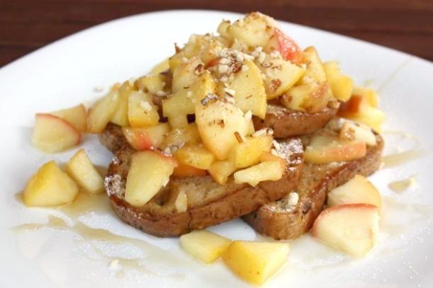 Jablková žemľovka bez pečenia - recept