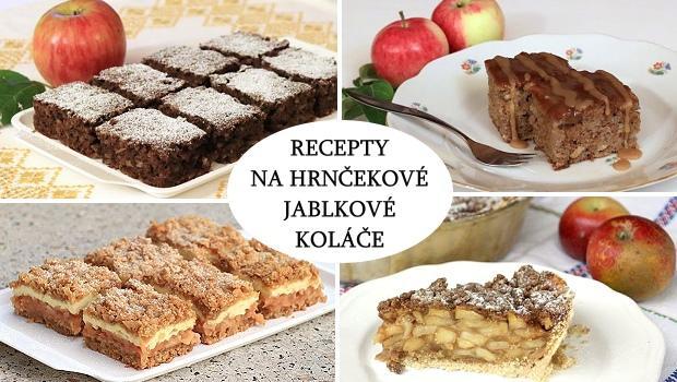 recepty na hrnčekové jablkové koláče