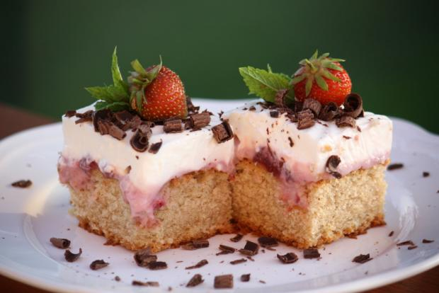 Jahodový koláč - recept