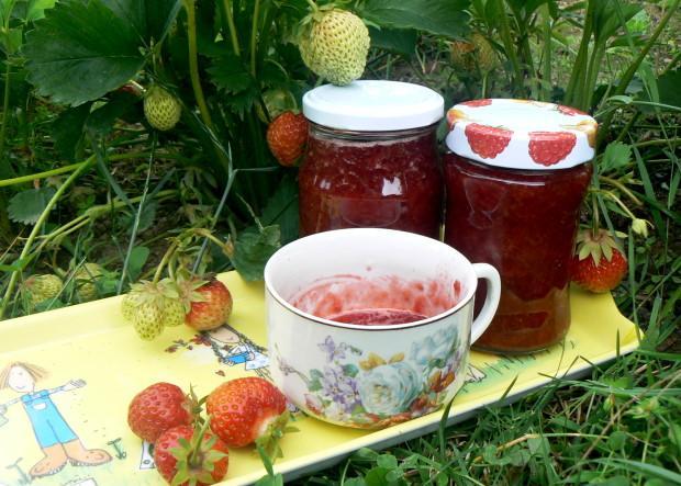 Jahodový džem - recept